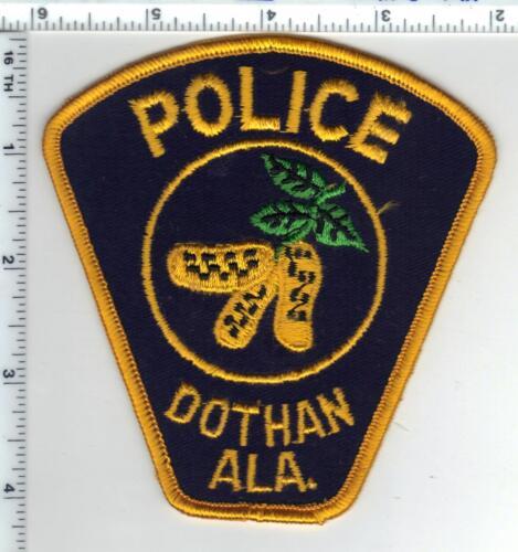 Dothan Police (Alabama) 2nd Issue Shoulder Patch