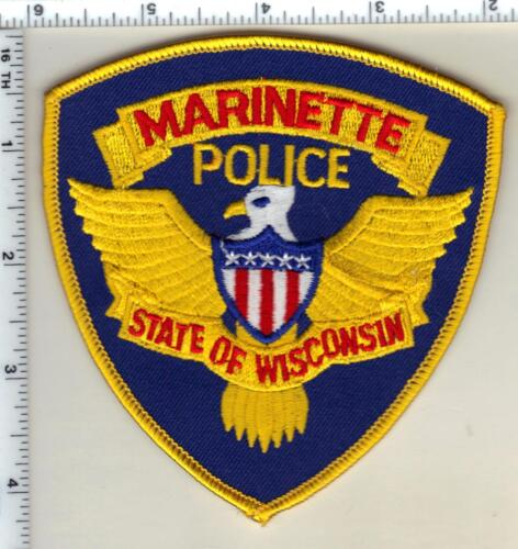 Marinette Police (Wisconsin) 1st Issue Shoulder Patch from 1991