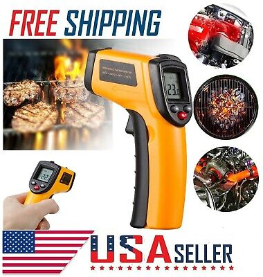 Non-contact Digital Laser Ir Infrared Temp Meter Temperature Gun Thermometer New