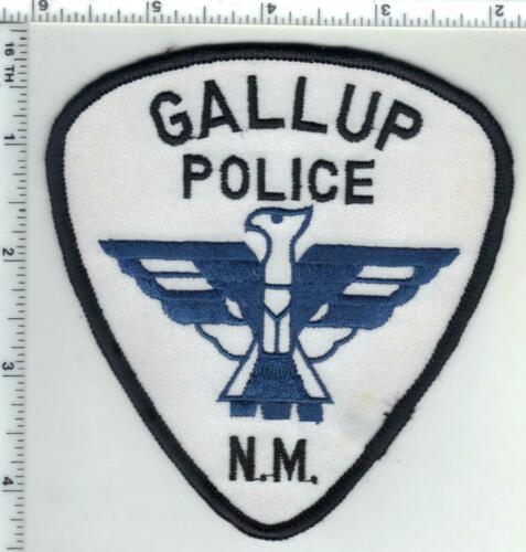 Gallup Police (New Mexico) 2nd Issue Shoulder Patch