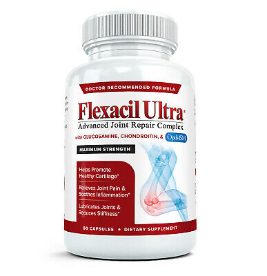 FLEXACIL ULTRA Best glucosamine chondroitin MSM with Hyaluronic Acid