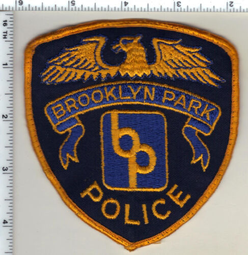 Brooklyn Park Police (Minnesota) Uniform Take-Off Shoulder Patch from 1990
