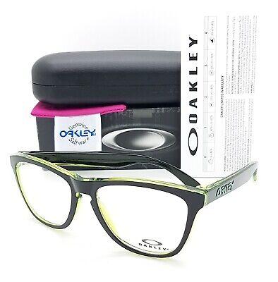 NEW Oakley Frogskins RX Prescription Frame Eclipse Green / Black (Oakley Frogskin Prescription Sunglasses)
