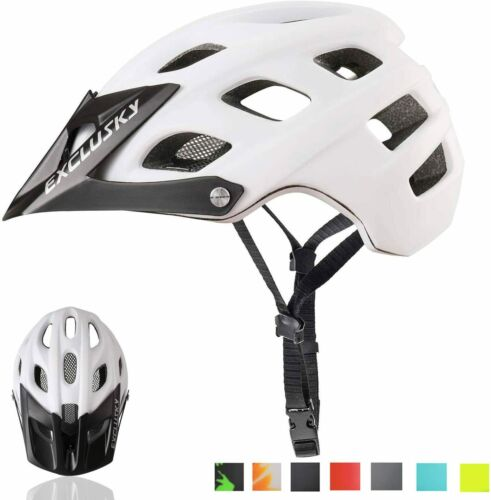 Exclusky Mountain Bike Helmet MTB Bicycle Cycling Helmets Adult Women and Men