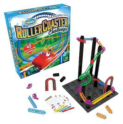 Roller Coaster Challenge Logic  Building Game