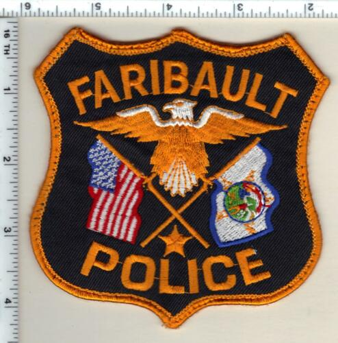 Faribault Police (Minnesota) Uniform Take-Off Shoulder Patch from 1992
