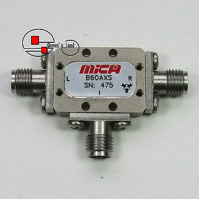 1used Mica Microwave B60axs 6-10ghz Sma Double Balanced Mixer