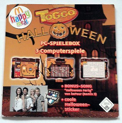 Toggo McDonalds HappyMeal Halloween PC-Spielebox 3 Spiele 1 Song (mum) (Song Halloween 3)