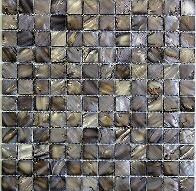 Black Mosaic Mother Of Pearl (