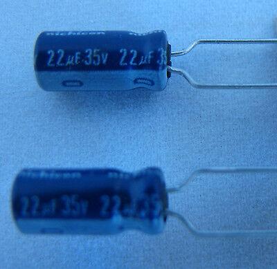 50 radial 22uF 35V VX Series Nichicon  Electrolytic Capacitors US Seller