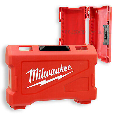 ONE NEW Milwaukee SHOCKWAVE Impact Bit CASE ONLY For Phillips TORX Square & More