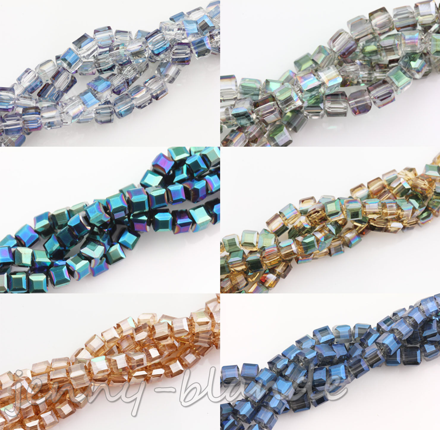 50//100pcs faceted charm spacer loose beads DIY jewelry