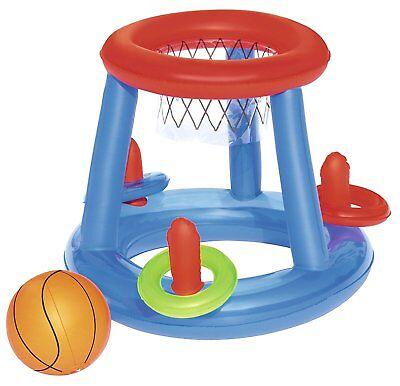 Canestro Gonfiabile Bestway Gonfiabili Gioco Acqua Piscina Mare Basket Palla