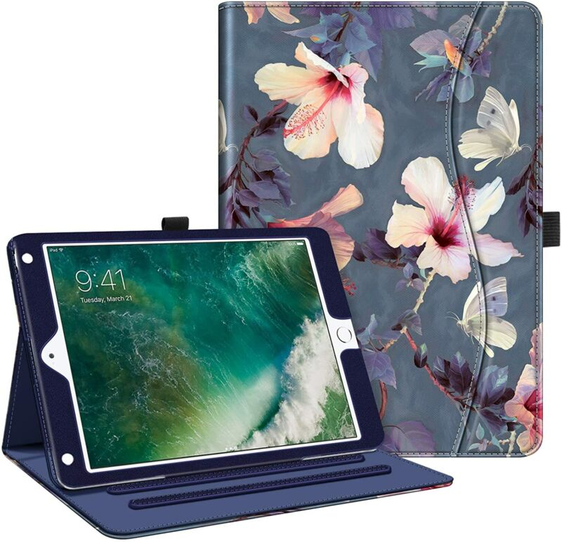 """For iPad 6th Generation 9.7"""" 2018/ 5th Gen 2017 Case Smart Cover Auto Wake/Sleep"""