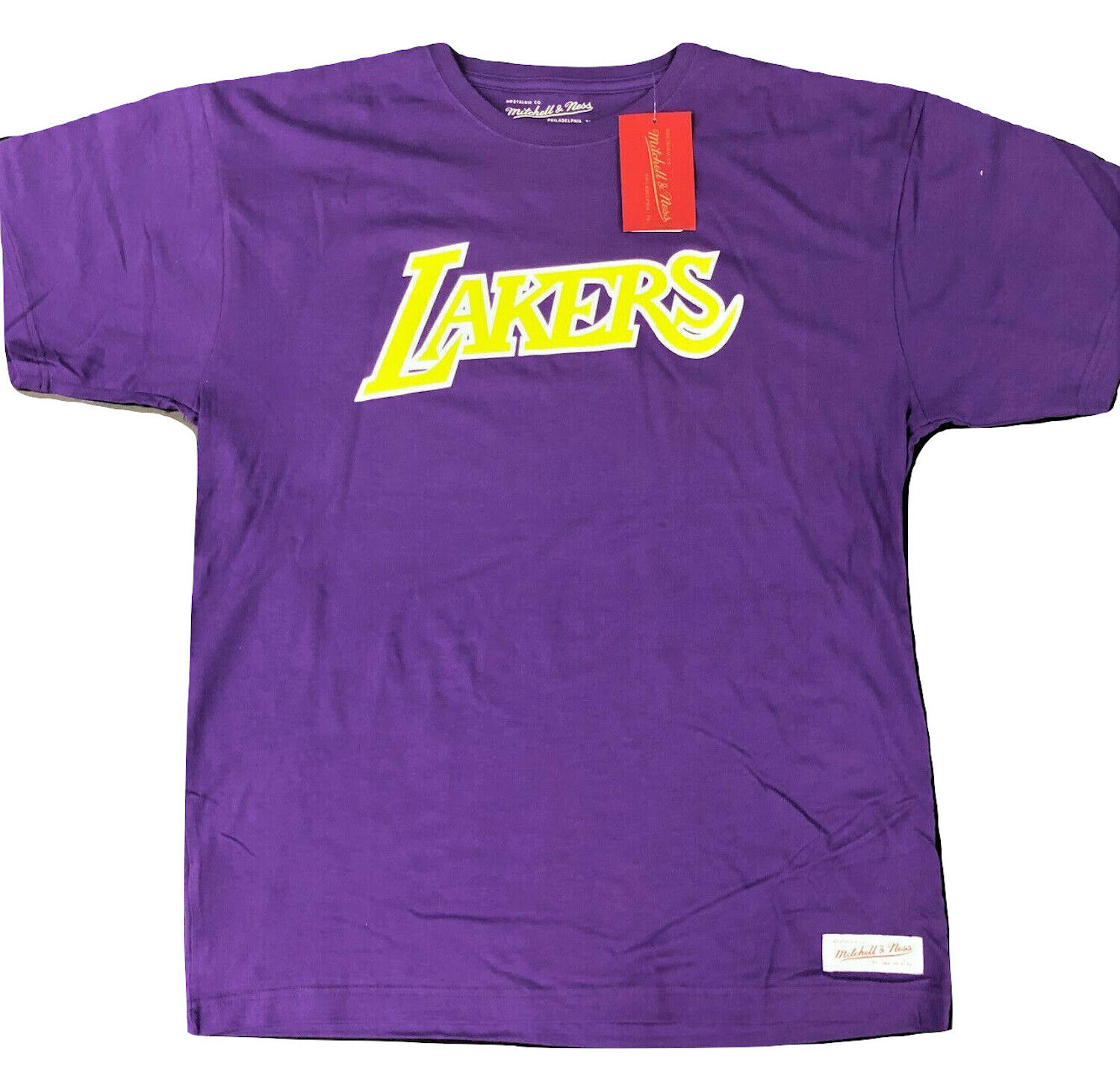 Mitchell & Ness Los Angeles LA Lakers T-Shirt Logo Tee NBA S
