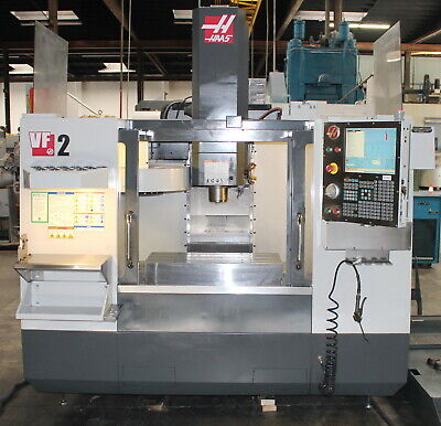 30 X 16 X 20 Haas Vf-2 Cnc Vertical Machining Center Milling Machine 2010