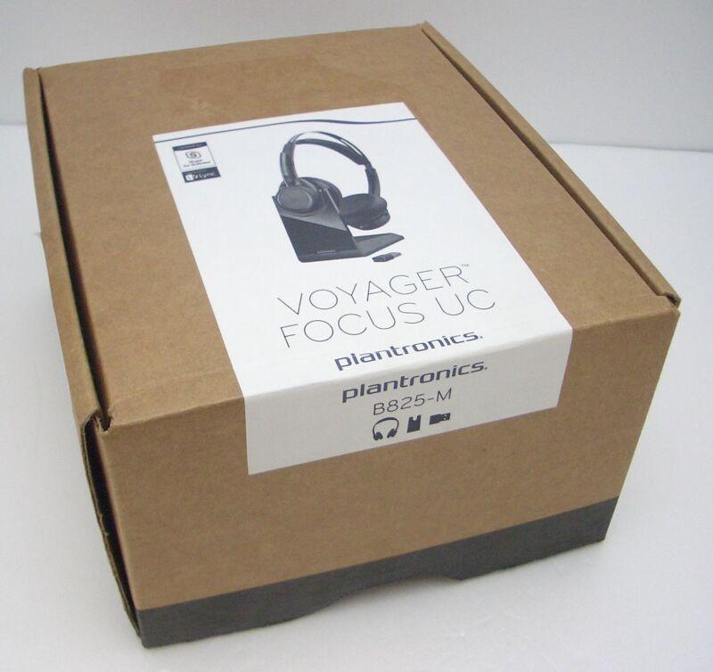 Brand New Plantronics b825m Voyager Focus UC (20265202) Free Shipping