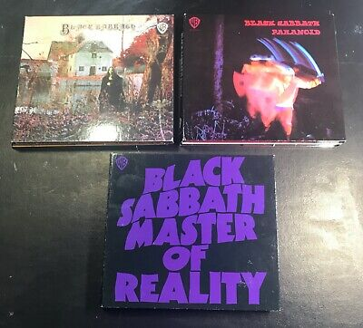 Black Sabbath-Self Titled,Paranoid,Master Of Reality(Deluxe Expanded Editions)..