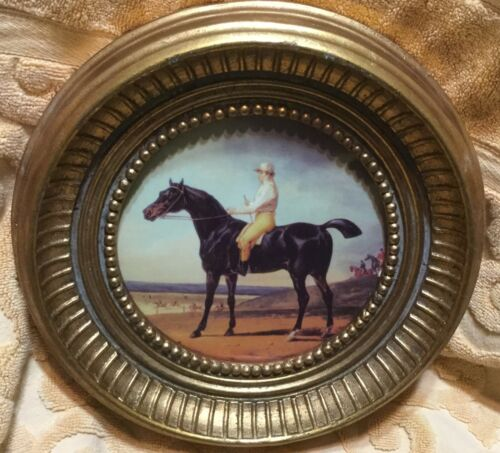 Horse Racing Decorative Wall Hanging Plate