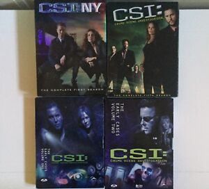 CSI volume 1-2-5 + CSI New York season 1