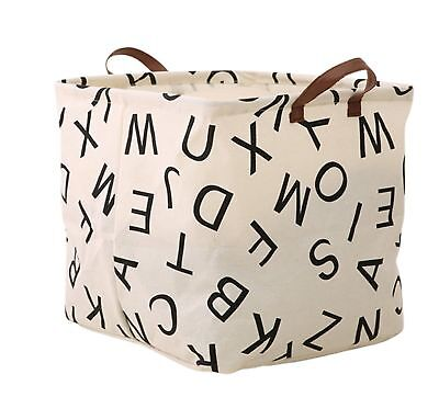 Square Storage Bin ,Ramie Cotton/ Canvas Fabric Folding Storage Basket - Square Storage Baskets