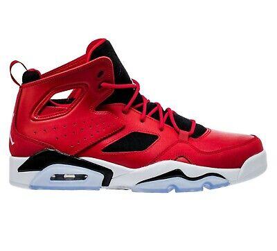 Air Jordan Flight Club '91 Gym Red White Black Retro  555475 600 Mens Shoes