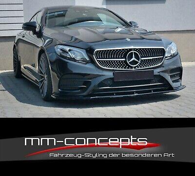 Cup Spoilerlippe für Mercedes E-Klasse W213 E43 AMG Line Coupe Frontspoiler V1