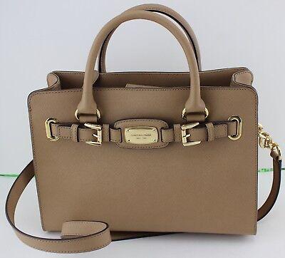 NEW AUTHENTIC MICHAEL KORS HAMILTON DK DARK KHAKI EW SATCHEL HANDBAG (Michael Kors Colorful Handbags)
