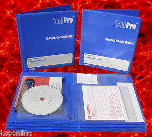 Tachpro-Tachograph-28-Day-Hardback-Combi-Wallet-For-Analogue-Digital