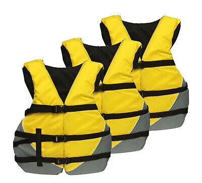 adult universal oversize life vest jacket ski