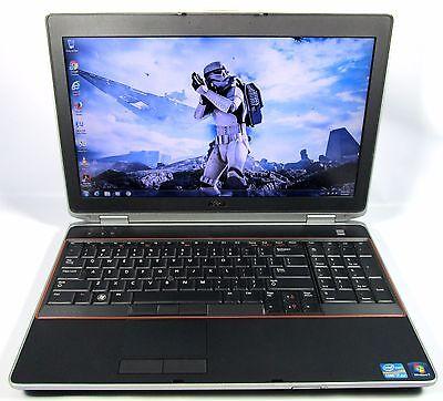 """Dell Latitude E6520 15.6"""" Quad Core i7-2720QM 8GB DDR3 250GB Wifi Win 7 Office"""