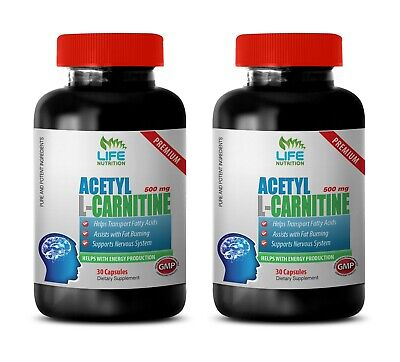 neuroprotective supplement - ACETYL L-CARNITINE 500MG - muscle growth vitamin 2B Acetyl L-carnitine 500 Vitamins