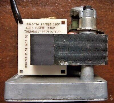 Ecm Motor 5594 120 Volt 60 Hz 50 Rpm