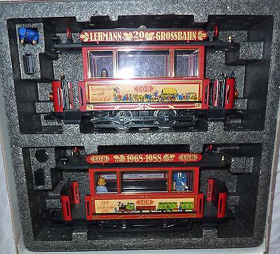 Alter LGB 1988 Jubiläums Straßenbahnzug NEU!!! OVP!!!