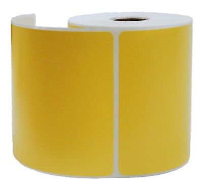 Yellow Zebra 4x6 Shipping Labels Direct Thermal Lp-2844 Zp-450