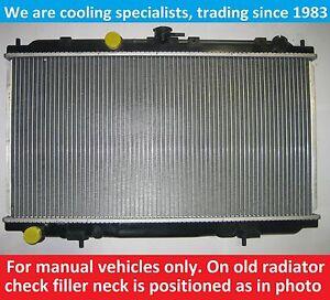 BRAND NEW RADIATOR NISSAN ALMERA N16 2000 TO 2011 / PRIMERA P12/W12 2002 TO 2008