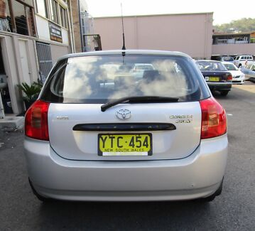 2003 Toyota Corolla Hatchback East Gosford Gosford Area Preview