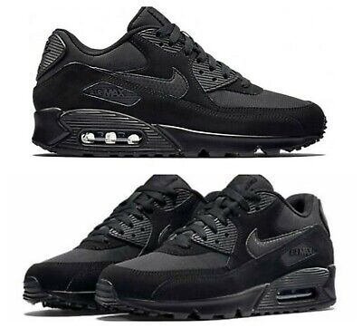 NIKE AIR MAX 90 Triple Black - Men's - Sizes 6-11 Brand New