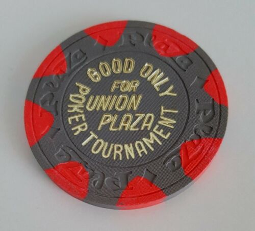 $500 Las Vegas Union Plaza Casino Chip - Uncirculated