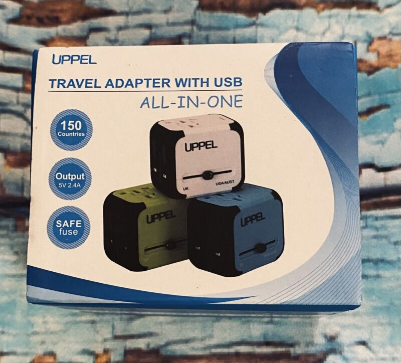 UPPEL Universal Travel Adapter International Power Adapter and Converter Charger
