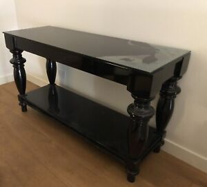 Dare Gallery Coco provincial black console table
