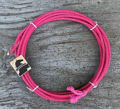223c40b06c4d8a Pink 20 kids little looper rodeo youth roping rope western lasso lariat  junior