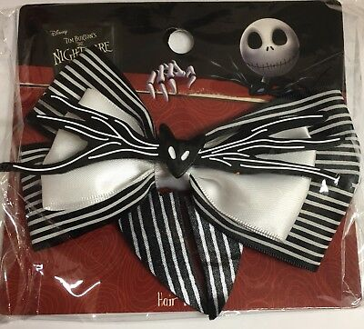 New Jack Skellington Hair Bow Nightmare Before Christmas Disney Costume Cosplay - Disney Jack Skellington Costume Kids