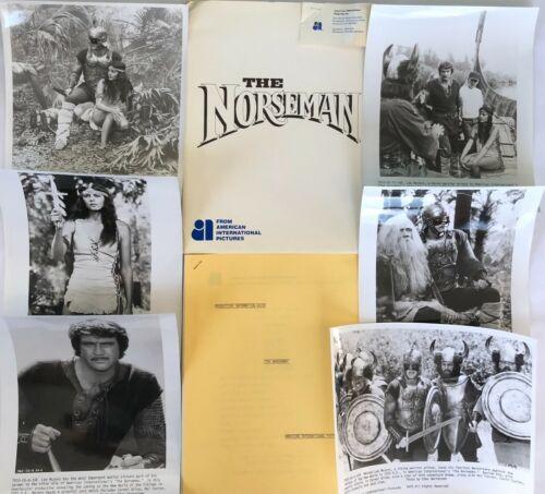 """THE NORSEMAN"" ORIGINAL MOVIE PRESS KIT! EXTREMELY RARE, 1978, LEE MAJORS!"