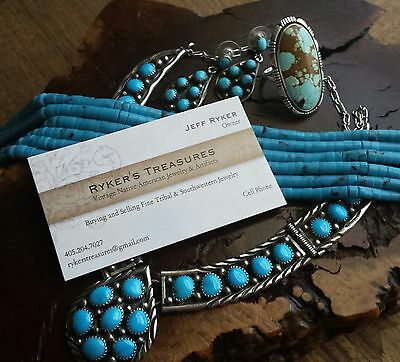 Ryker's Native Turquoise Jewelry