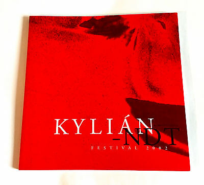 KYLIAN-NDT FESTIVAL 2002 JAPAN SOUVENIR PROGRAM BOOK Jiri Dance Company