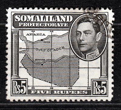 Somalia-Britisch 88, O, 5 R.Landkarte