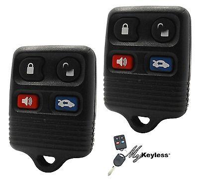 OEM Ford Lincoln Mercury Keyless Entry Car Remote Alarm Transmitter Key Fob x2