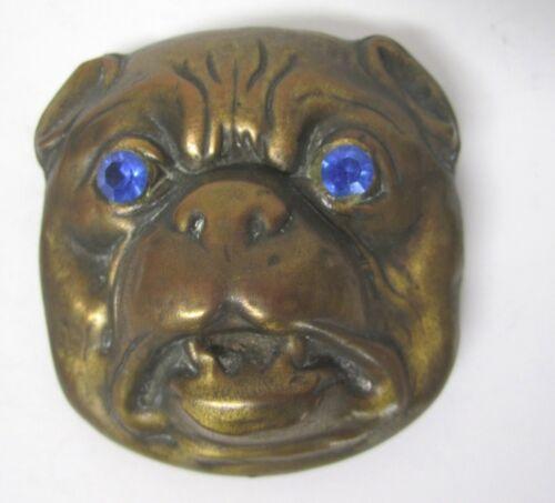 Vintage Bulldog Brooch Pin