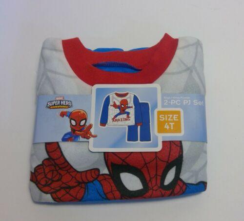 Spider-Man Fleece Pajama Set (4T)
